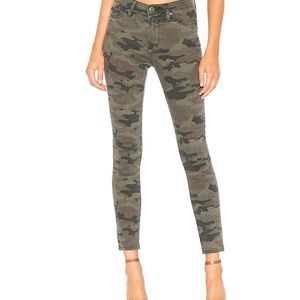 Hudson Jeans High Waist Skinny Ankle Camo Pant 24
